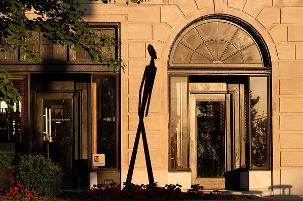 Outdoor Downtown Sculpture Exhibit 2015