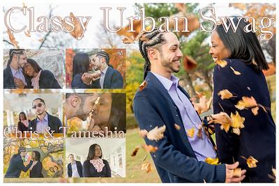 Chris and Tameshia Engagement Shoot