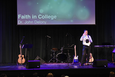 Chapel with Dr. Delony