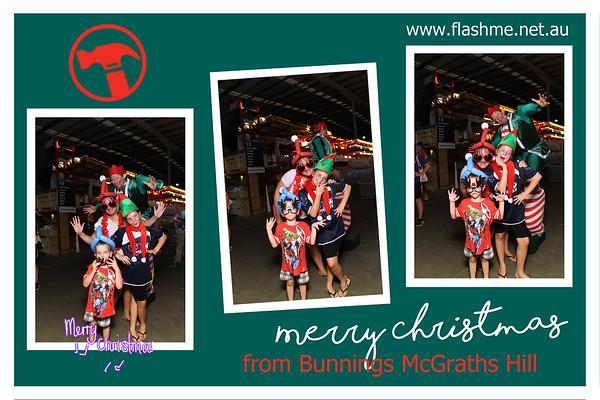 Bunnings McGraths Hills Christmas Family Night - 8 December 2016
