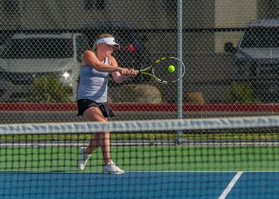 2019-08-17 Kylie Willardson Playing Tennis