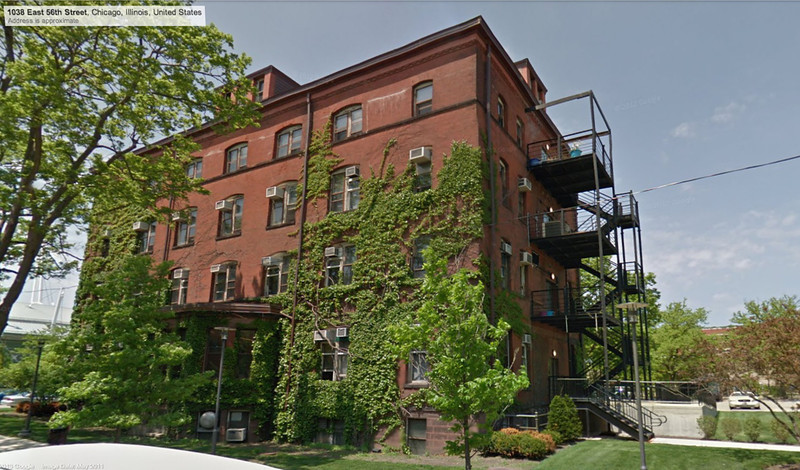 4b-The Young Building, 5555 S. Ellis, 56th St façade (Google Streetview)
