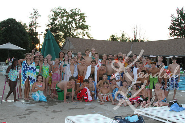 6th Grade Pool Party 2011