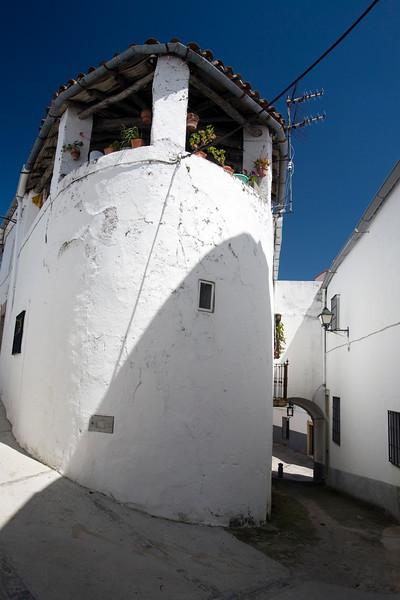 Traditional architecture, Montanchez, Spain
