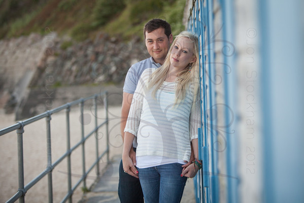 Stacey & Stephen's pre wedding photography, St Ives, Cornwall