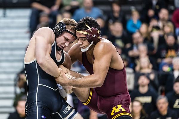 Purdue Wrestling vs Minnesota 2017-1-29