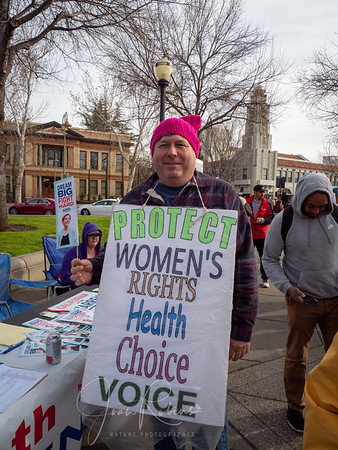 Women's March in Chico 2020
