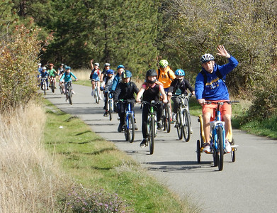 MS 6th Bike Ride & Water Testing 10-7-21