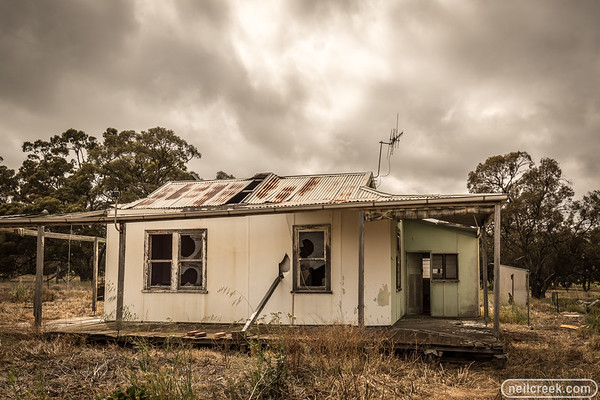 Abandoned House near Nhill - 171022