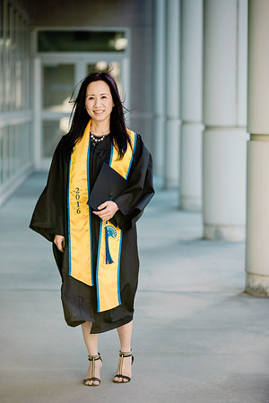 Rose's Graduation SJSU