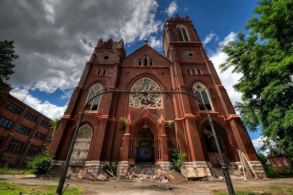 Bethlehem Lutheran Church Built 1895 (collapsed April 2014)