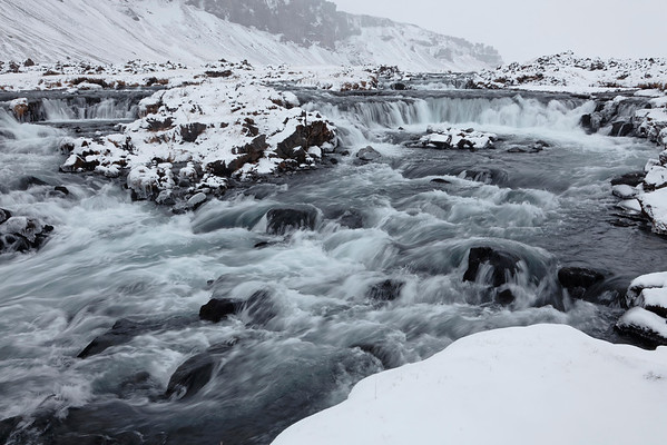 Ruisseau hivernal