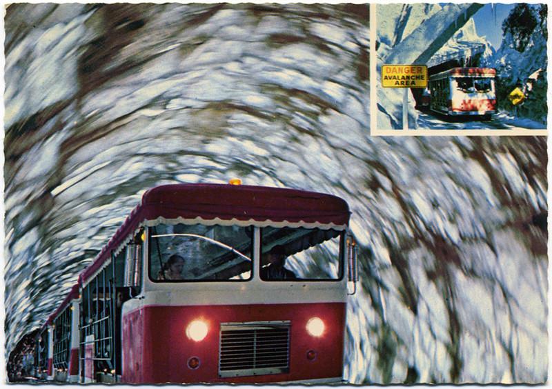 Tram in Doomed Glacier