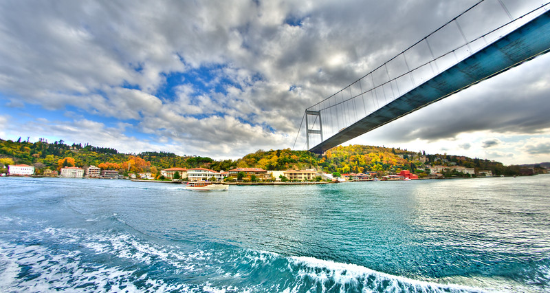 Along the Bosphorus, Istanbul, Turkey