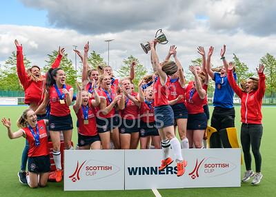 Cup Final - Edinburgh University v Dundee Wanderers