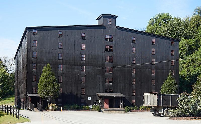 Barton Bourbon storage warehouse