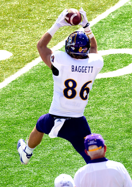 Baggett's 7-yard reception