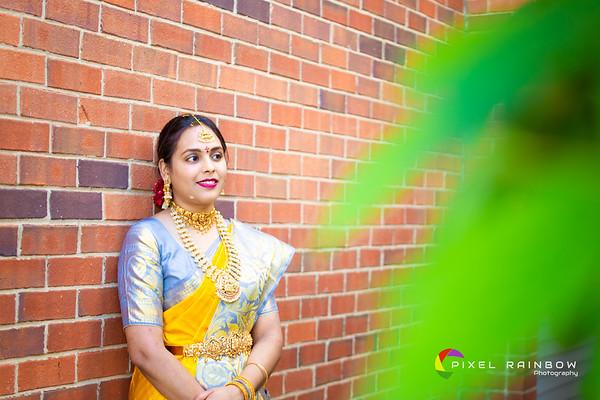 Sudheer+Anjali Bride