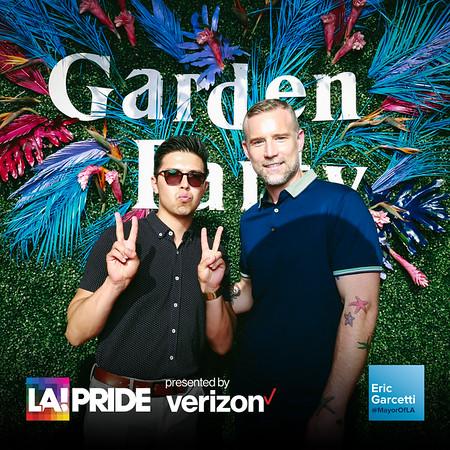Mayor Garcetti's L.A. Pride Garden Party