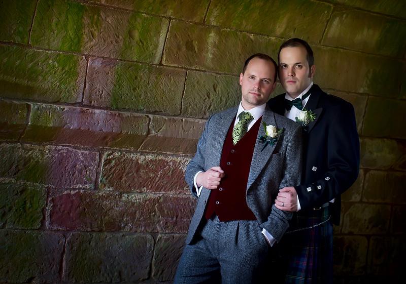 Same Sex Wedding Dryburgh Abbey