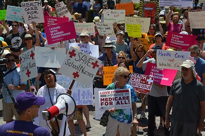 """Rally For Health Care"" - Denver, Co 7/9/17"