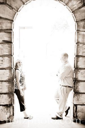 Natalie and Brian Creative Engagement Photos