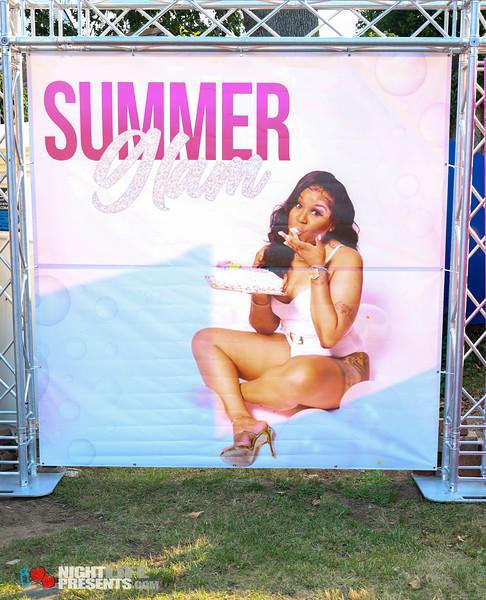 """""""Summer Glam"""" Sassy Birthday Party"""