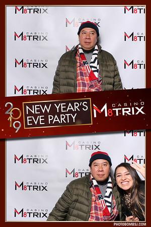 Casino M8trix's NYE Party 2019
