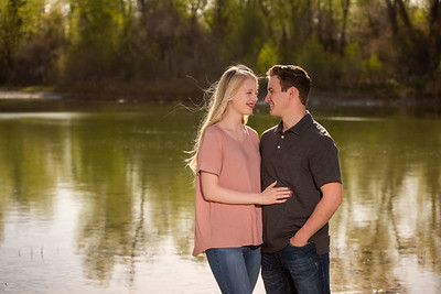 Mikenna and Addy engagement