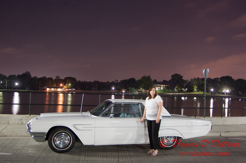 Trudy and her T-Bird