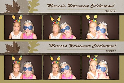 Marcia's Retirement Party
