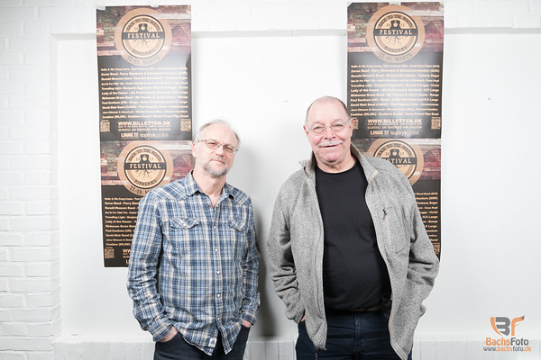 Hans Werner Roschnowski og Ronald Mossom