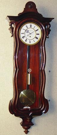 VR-344 - Serpentine Vienna Regulator Timepiece by F. Effenberger, in Wien.