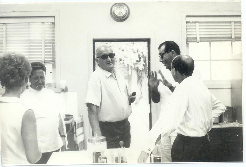 Dr. Ramos, Dr. Reinaldo de Almeida?, Dr. João Novo e Dr. Rocha Afonso