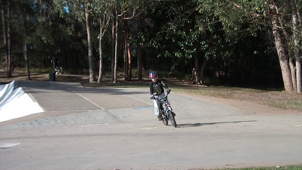BMX at the bowl