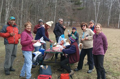 "March 29 Wednesday ""End of Season"" Hike"