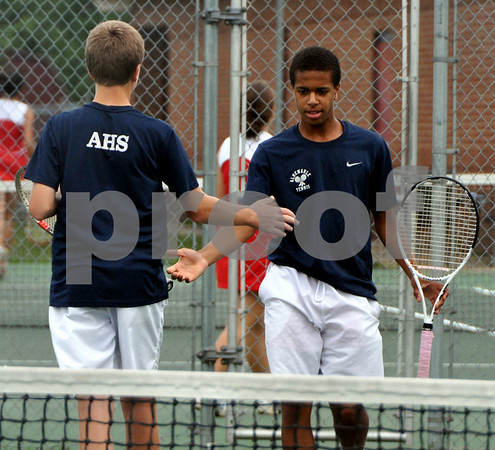 AHS boys tennis wins Northwest Region title 2010