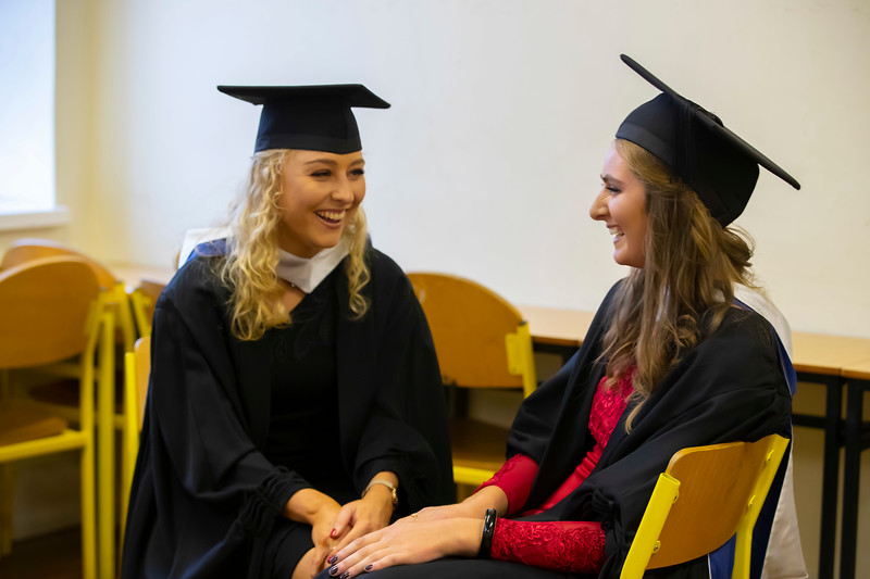 30/10/2019. Waterford Institute of Technology (WIT) Conferring Ceremonies are Niamh Nolan Skeough, Kilkenny and Niamh Fahey Monstrevin. Picture: Patrick Browne