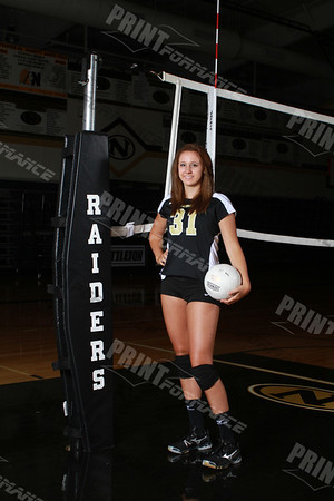 NHS Volleyball Players 2012
