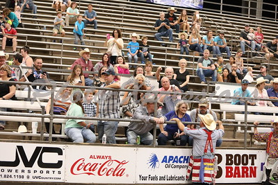 The Stands and Fans Friday September 22