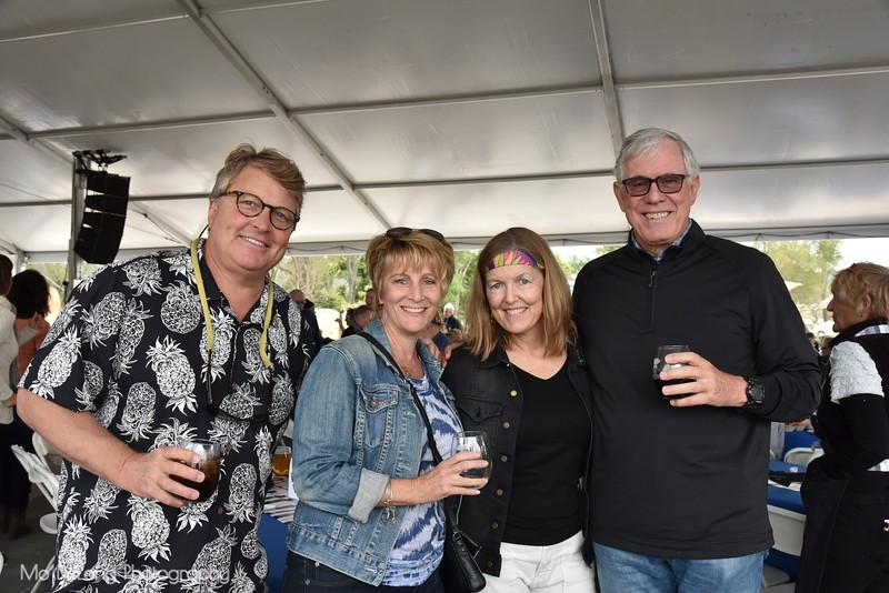 Peter Rubens, Teresa Tooker, Peggy Rubens and John Williams