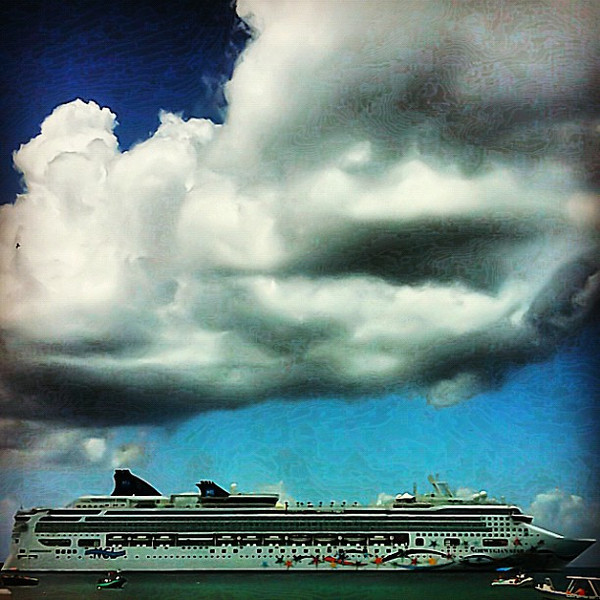 Shipping out, Cozumel #WeVisitMexico