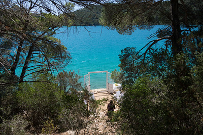 Croatia - Mljet Nat Park - Wedding pictures on trail