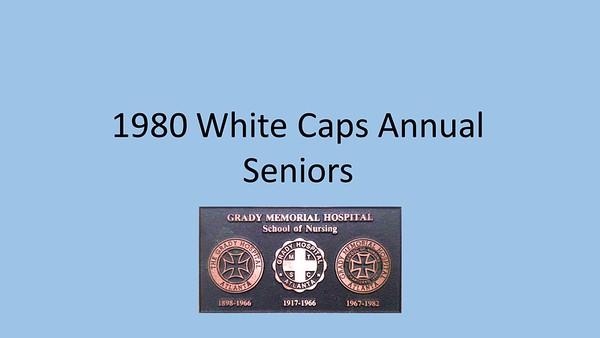 1980 White Caps Yearbook