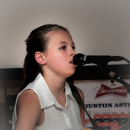 Abigail Taylor and Kent Nelson At Live Oak Bar and Grill
