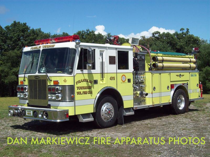 FRANKLIN TWP. FIRE CO.