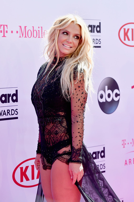 . LAS VEGAS, NV - MAY 22:  Singer Britney Spears attends the 2016 Billboard Music Awards at T-Mobile Arena on May 22, 2016 in Las Vegas, Nevada.  (Photo by David Becker/Getty Images)