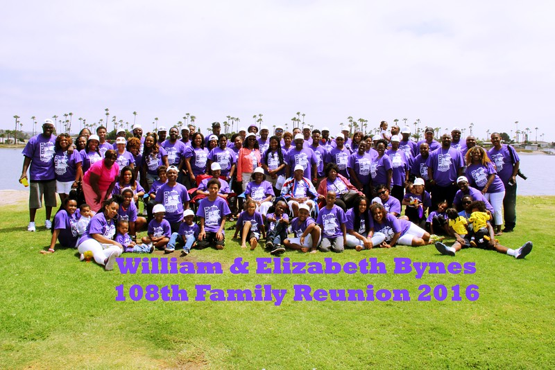 108th Bynes Family Reunion 2016