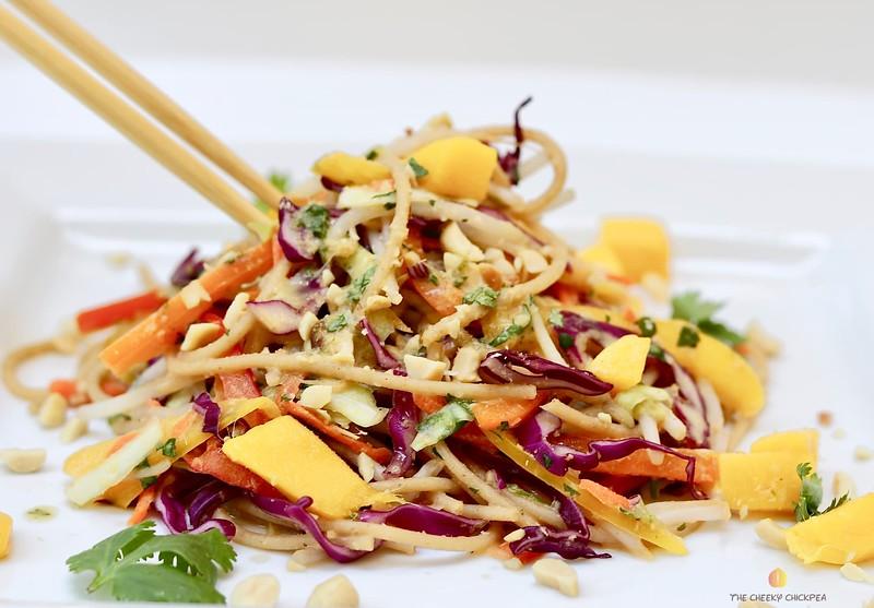Cold Thai Noodle Salad