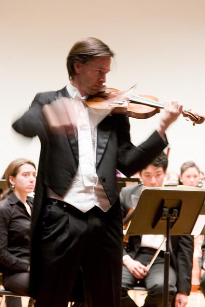 Kai Gleusteen, violin soloist -- Hopkins Symphony Orchestra, March 2008